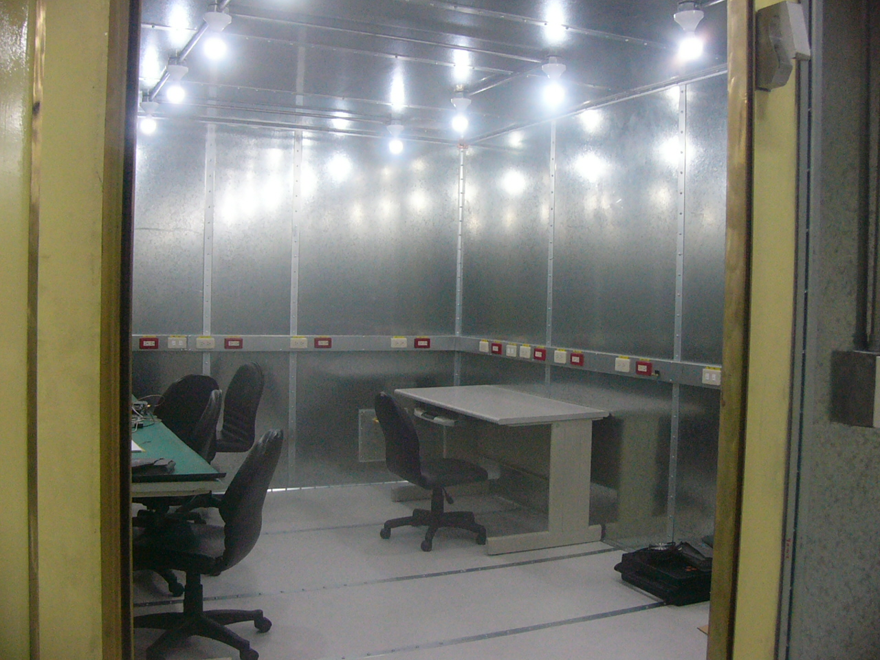 Interior of RF Shielded Room